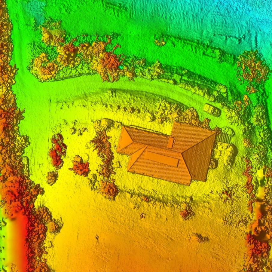 DTM fotogrammetrico da drone